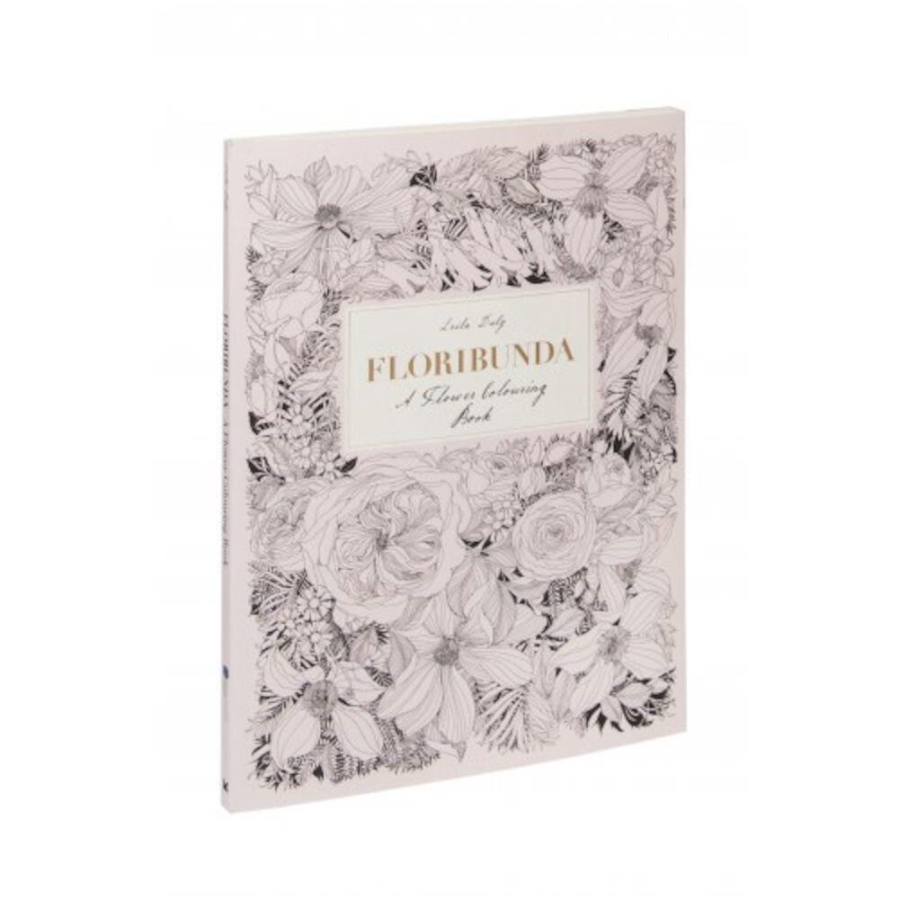 Floribunda. Agenda de colorat cu flori