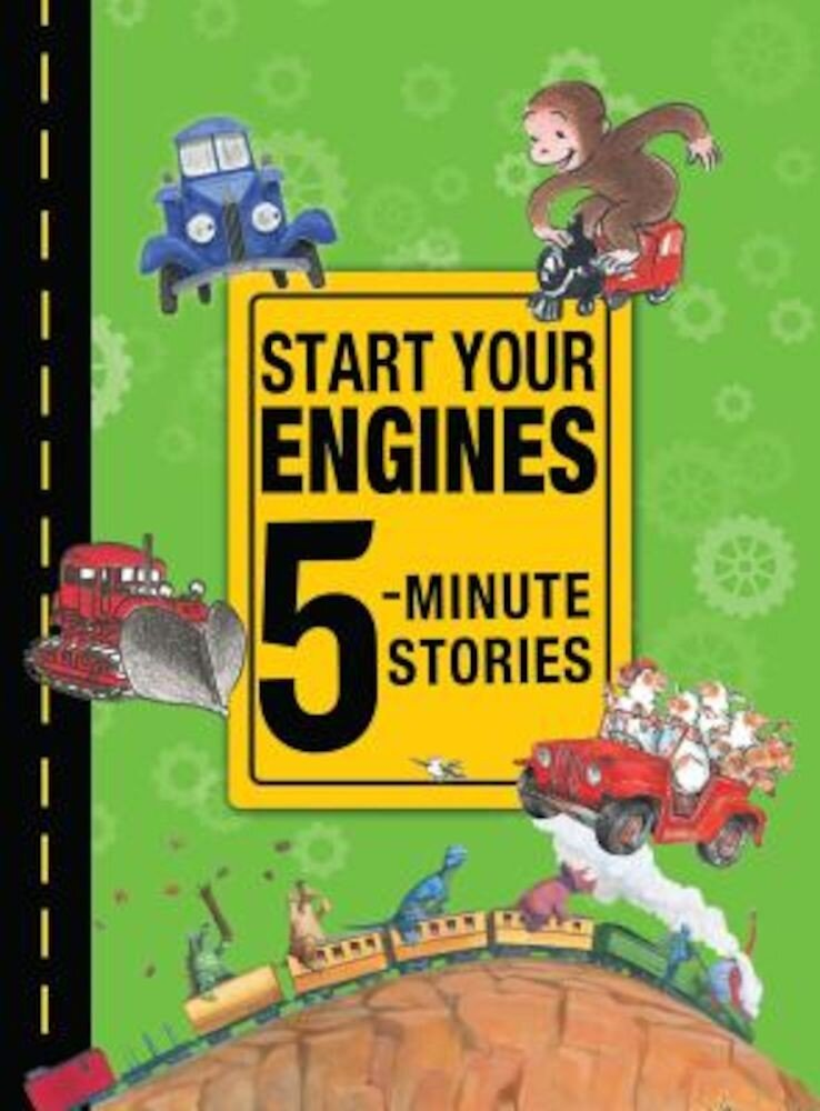 Start Your Engines 5-Minute Stories, Hardcover