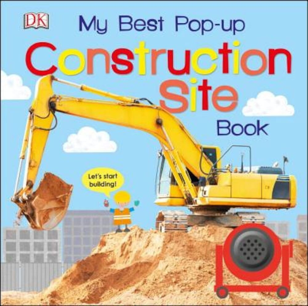 My Best Pop-Up Construction Site Book, Hardcover