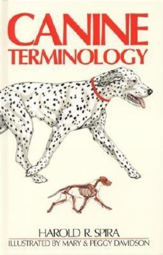 Canine Terminology, Hardcover