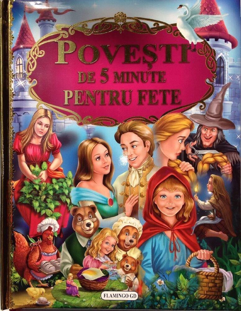 Coperta Carte Povesti de 5 minute pentru fete