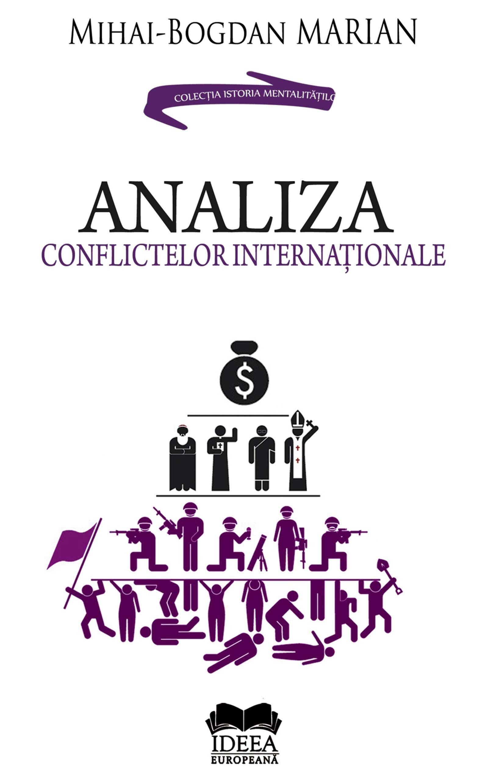 Coperta Carte Analiza conflictelor internationale