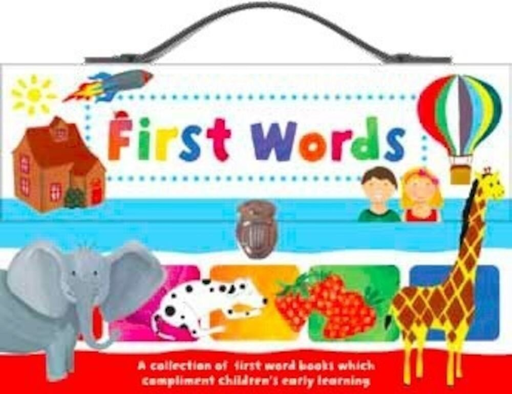 Small Book Carrycase Set - First Words Claudia