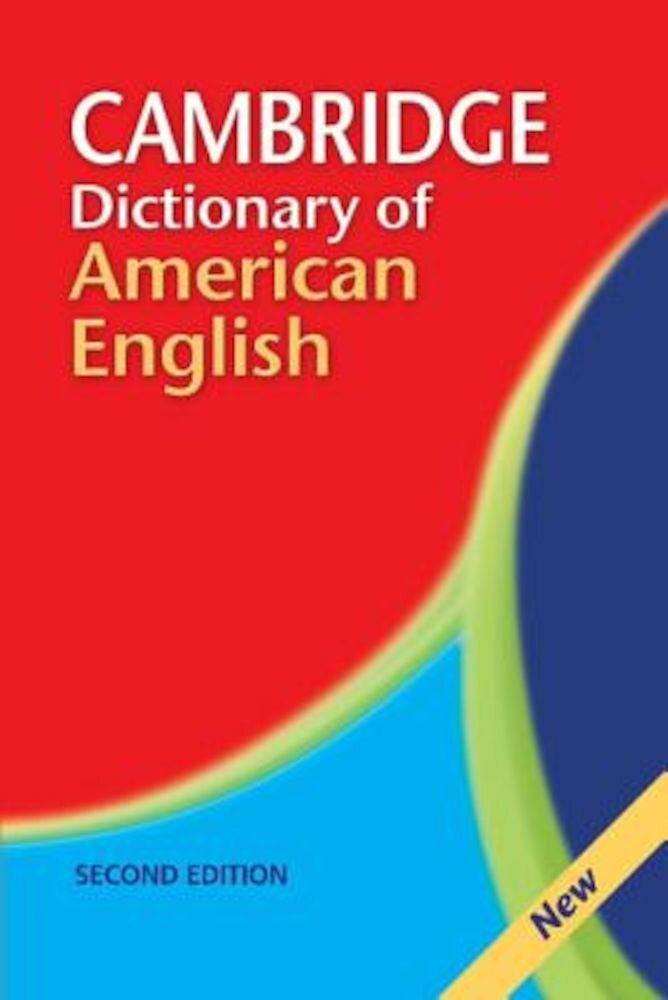 Cambridge Dictionary of American English, Paperback