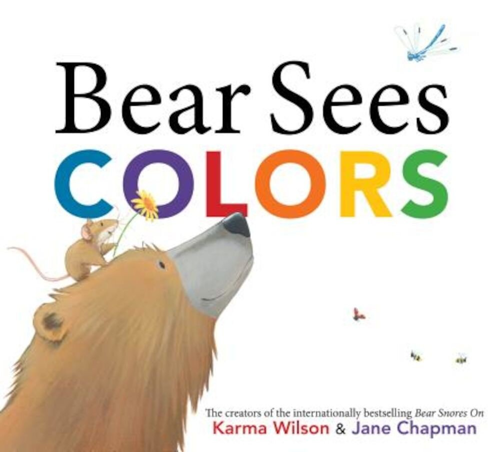 Bear Sees Colors, Hardcover