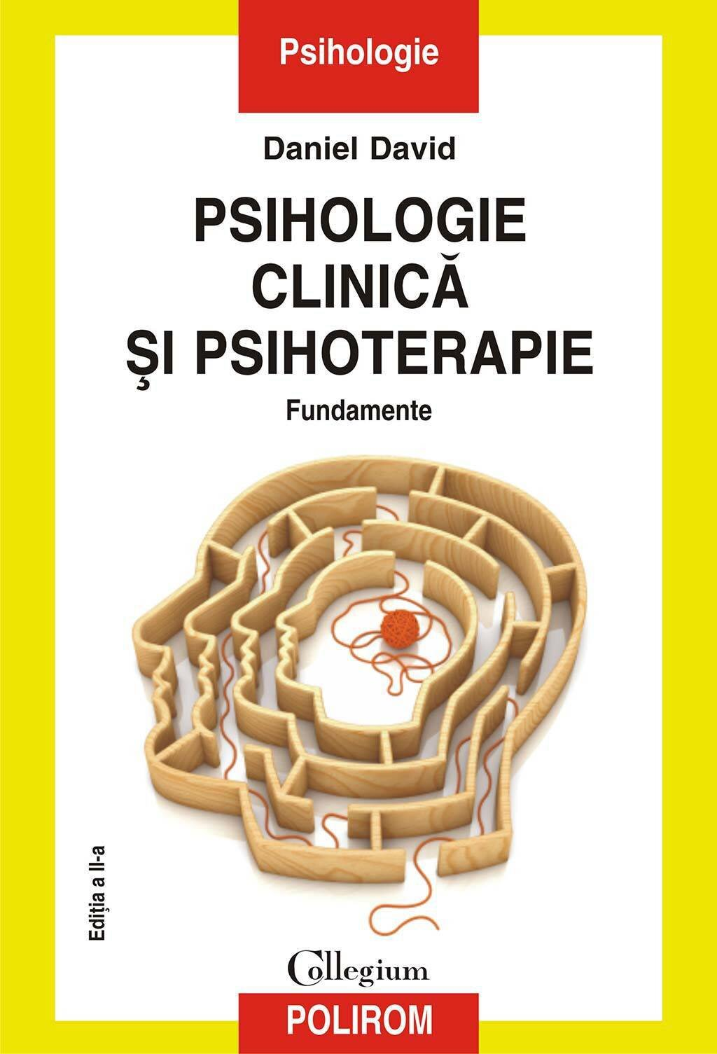 Psihologie clinica si psihoterapie. Fundamente (eBook)
