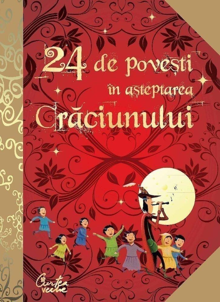 Coperta Carte 24 de povesti in asteptarea Craciunului
