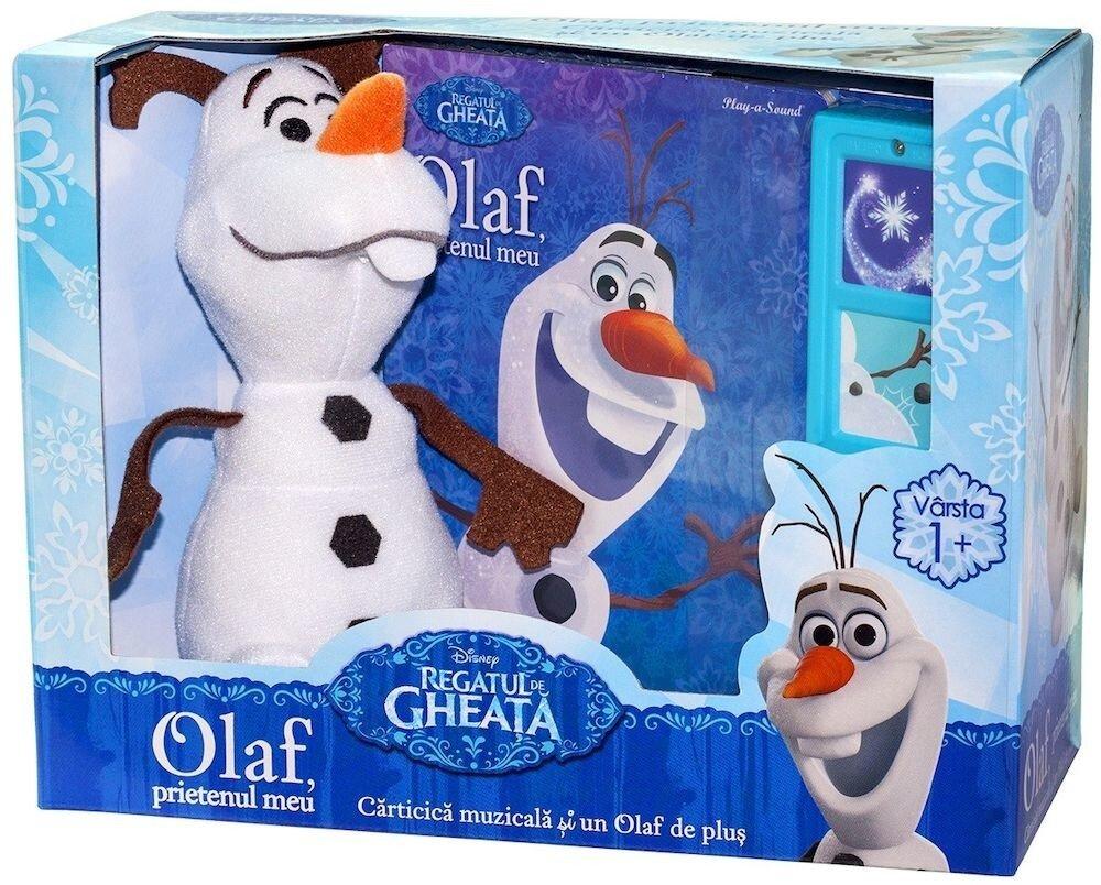 Regatul de gheata. Olaf, prietenul meu (contine carticica muzicala si jucarie de plus)