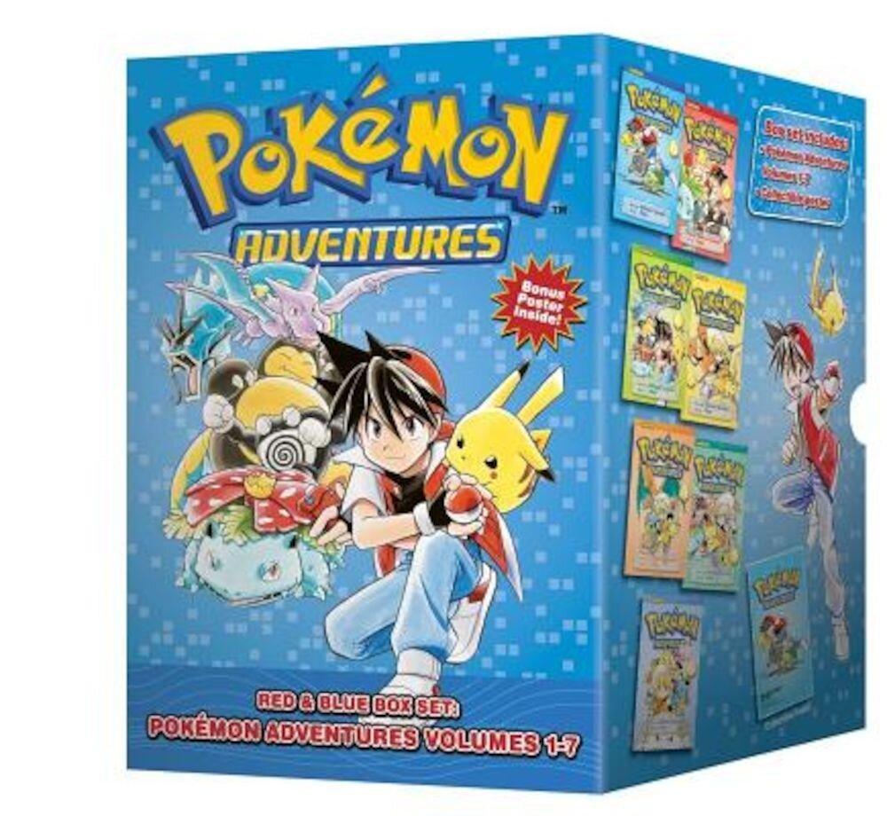 Pokemon Adventures Red & Blue Box Set: Volumes 1-7, Paperback