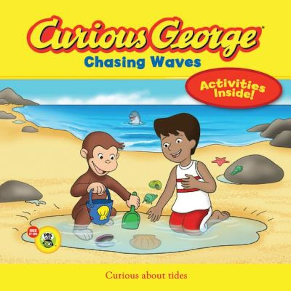 Curious George Chasing Waves, Paperback
