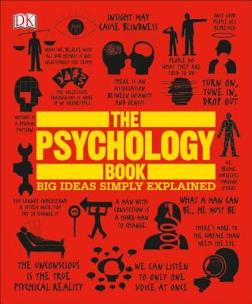 The Psychology Book: Big Ideas Simply Explained, Paperback