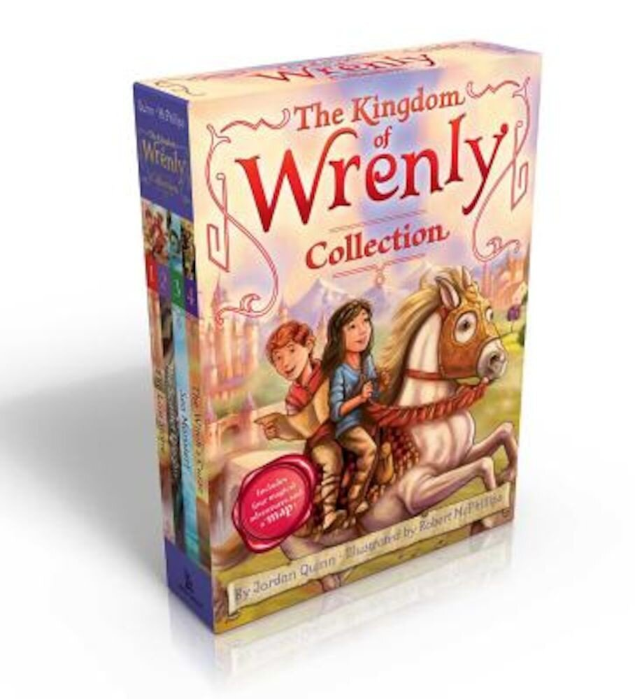 The Kingdom of Wrenly Collection (Includes Four Magical Adventures and a Map!): The Lost Stone; The Scarlet Dragon; Sea Monster!; The Witch's Curse, Paperback