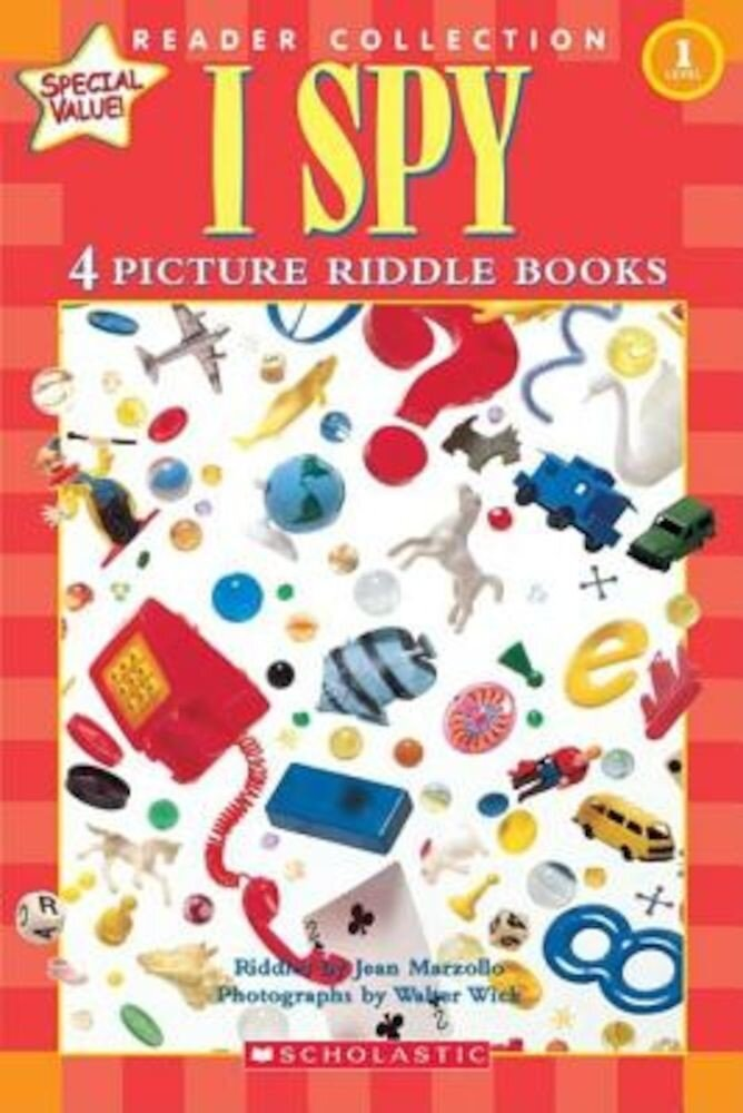 Scholastic Reader Collection Level 1: I Spy: 4 Picture Riddle Books, Hardcover