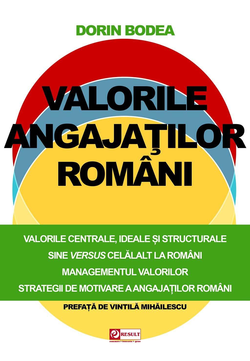 Valorile angajatilor romani (eBook)