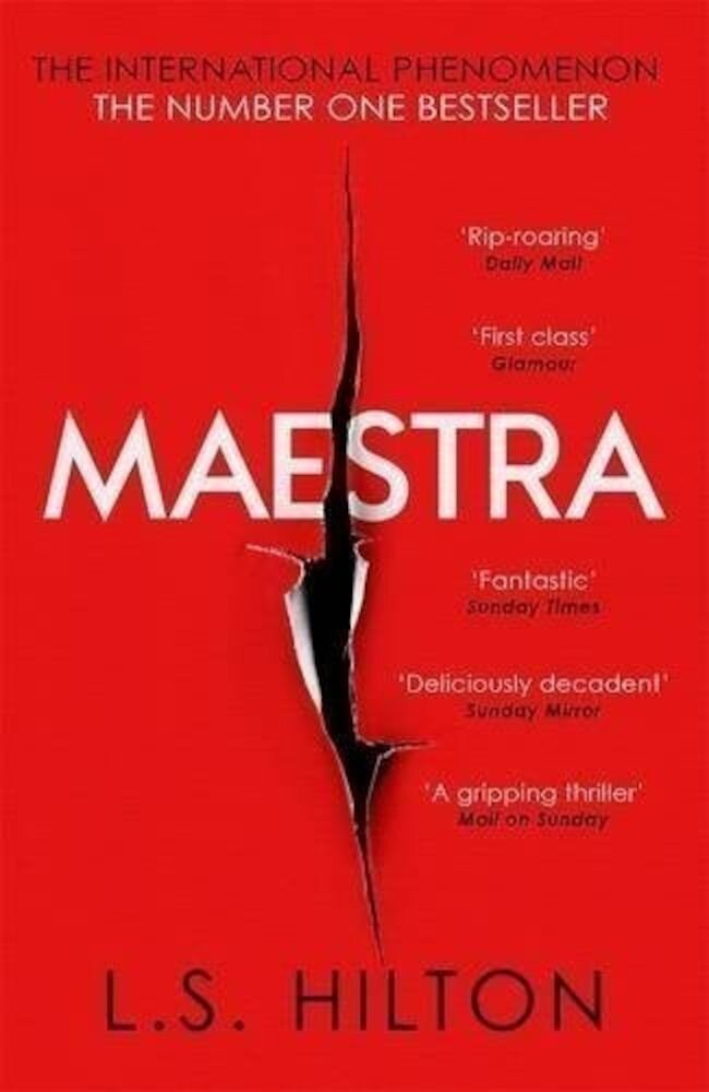 Coperta Carte Maestra: The Most Shocking Thriller You'll Read This Year