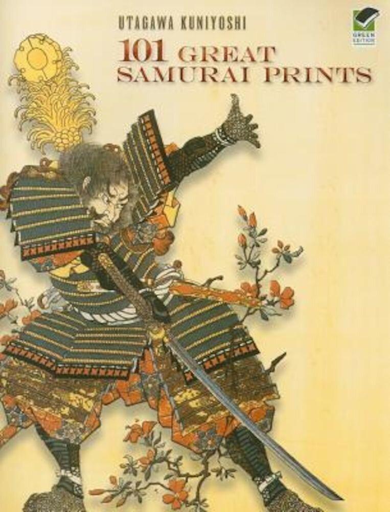 101 Great Samurai Prints, Paperback