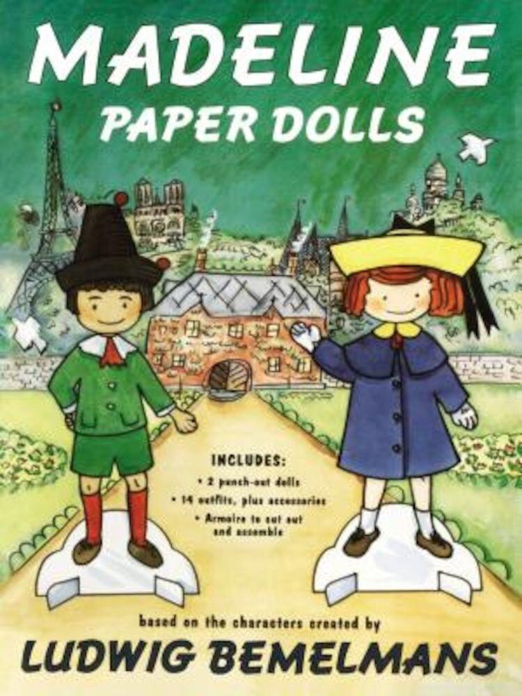 Madeline Paper Dolls, Paperback