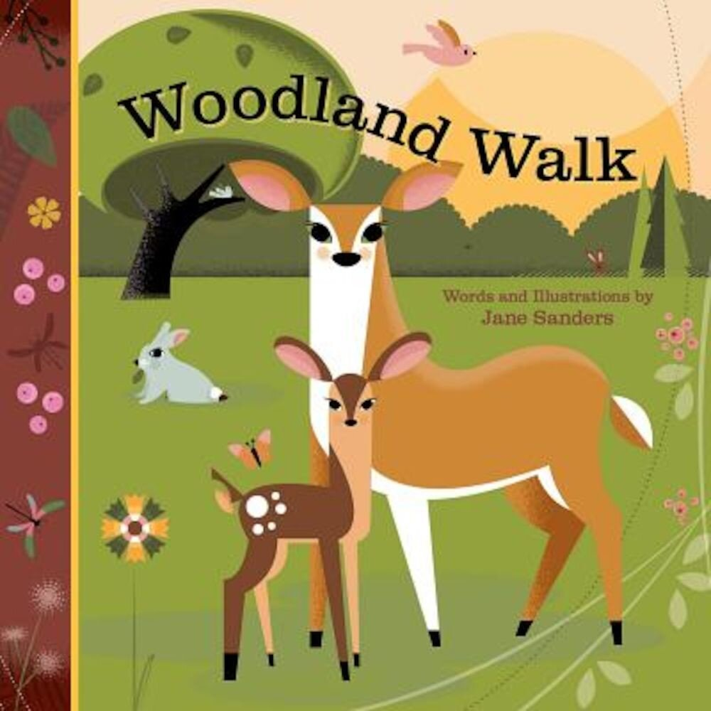 Woodland Walk: A Whispering Words Book, Hardcover