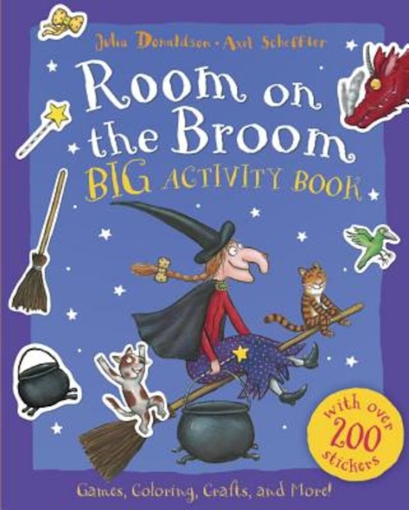 Room on the Broom Big Activity Book, Paperback