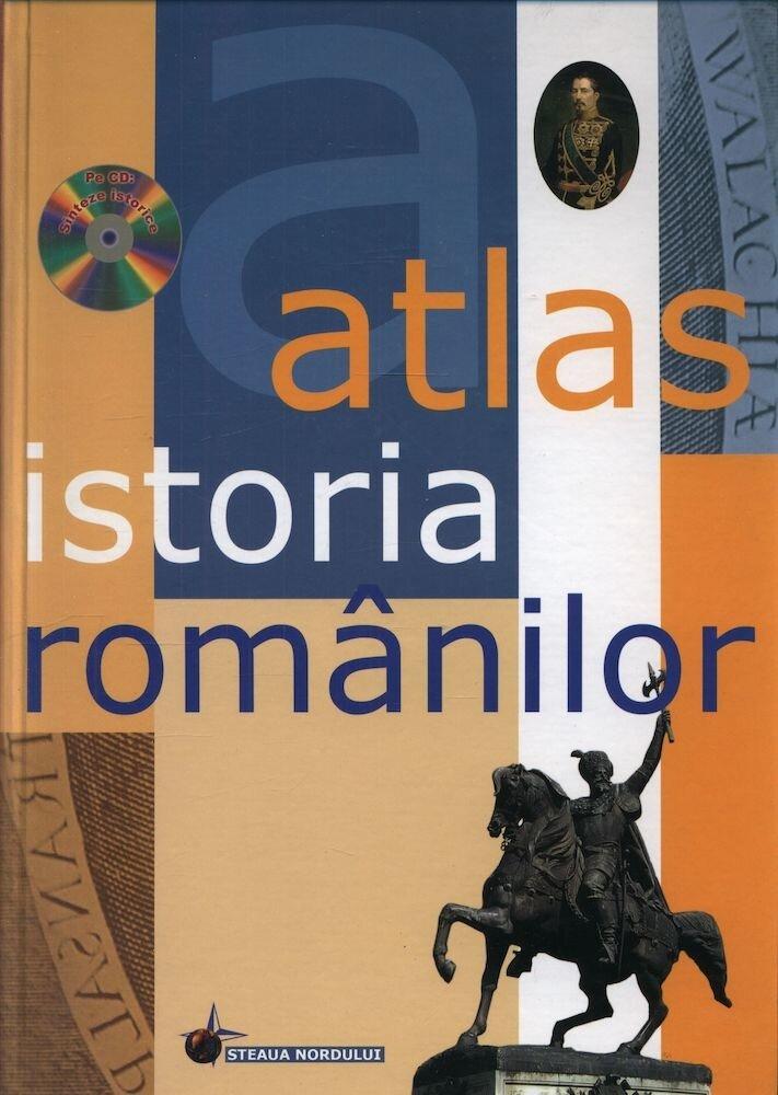 Coperta Carte Atlas Istoria Romanilor (CD)