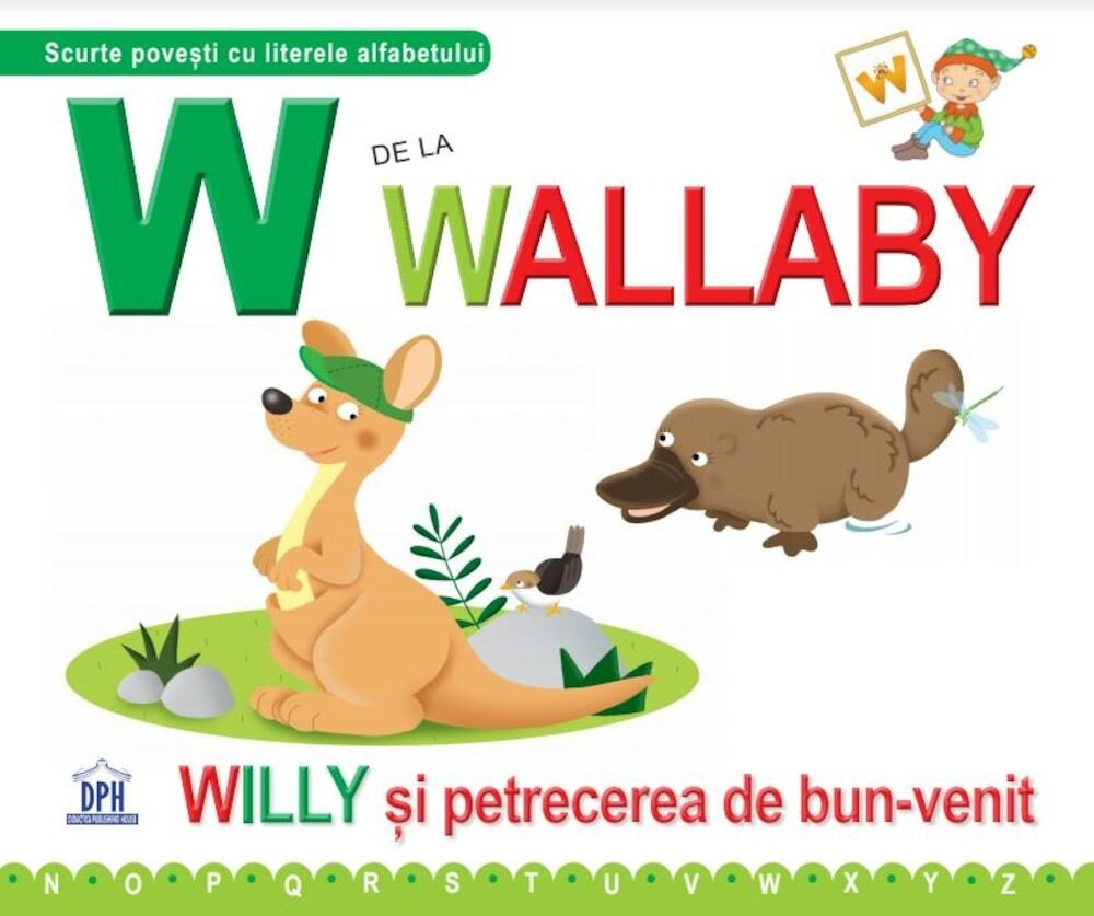 Coperta Carte W de la Wallaby
