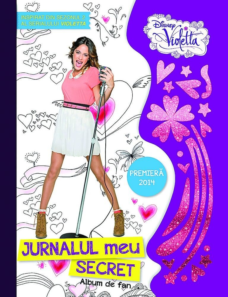 Disney Violetta. Jurnalul tau secret. Album de fan