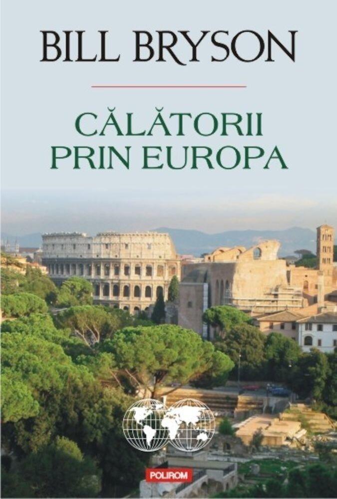 Coperta Carte Calatorii prin Europa