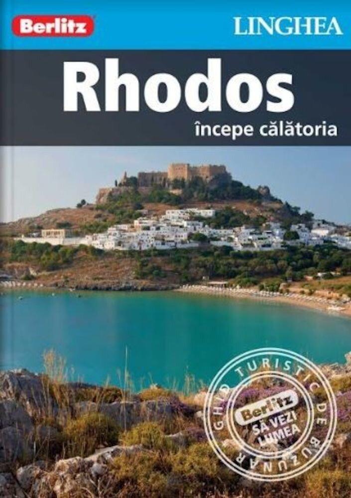 Coperta Carte Rhodos - ghid turistic