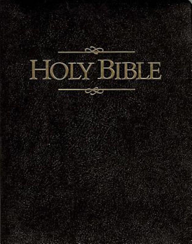 Giant Print Bible-KJV, Hardcover