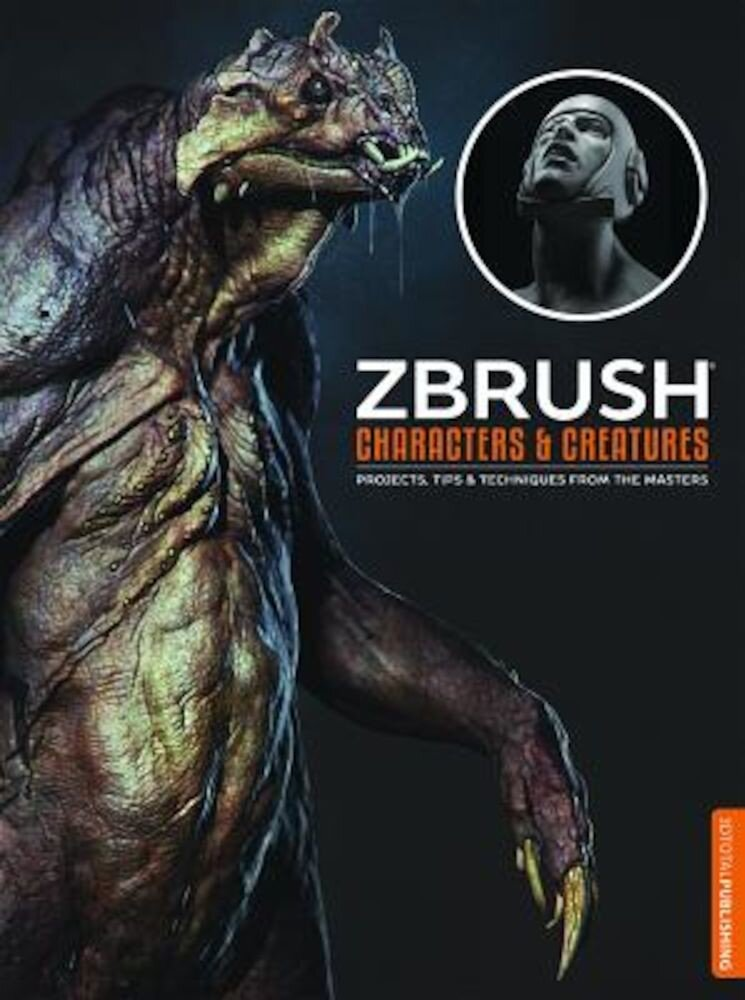 Zbrush Characters and Creatures, Paperback