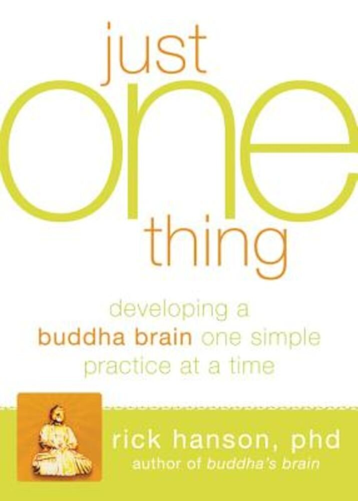 The Just One Thing: Effective Strategies to Get You Where You Need to Go, Paperback