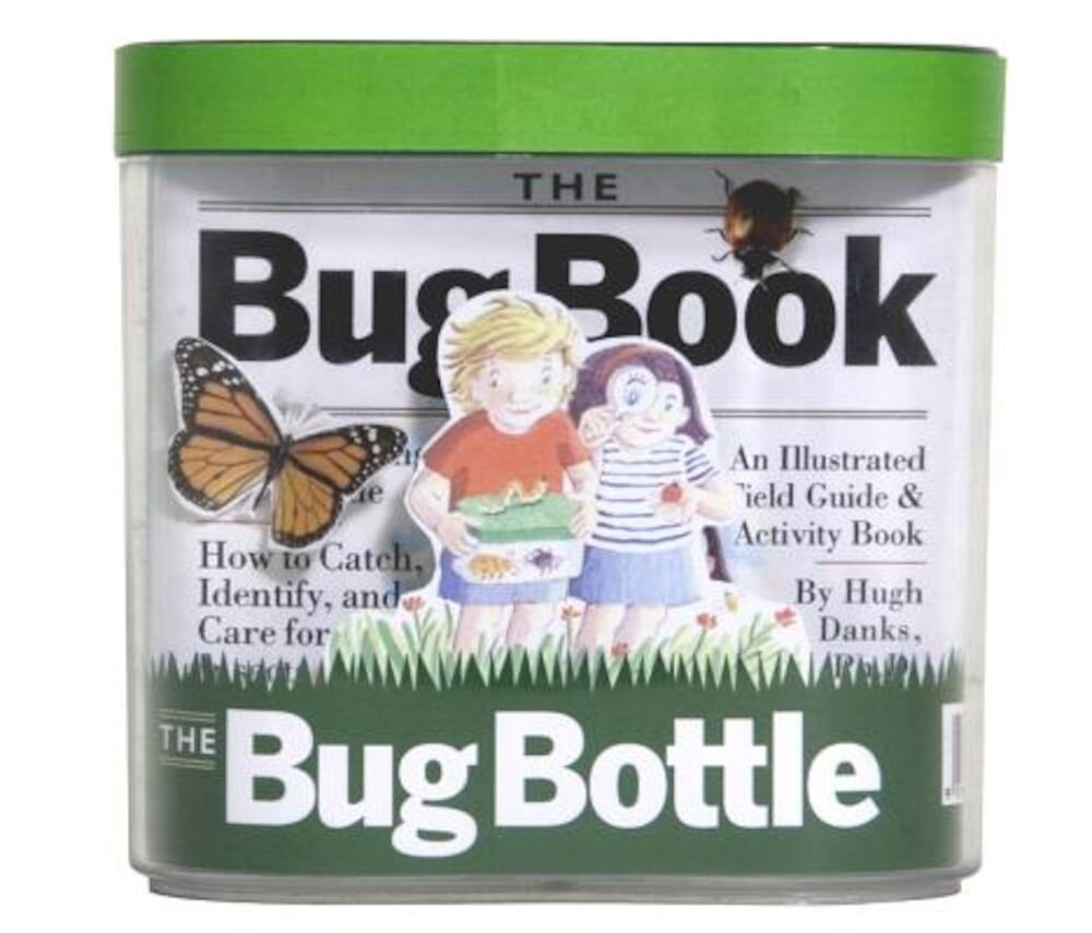 The Bug Book and Bug Bottle, Paperback