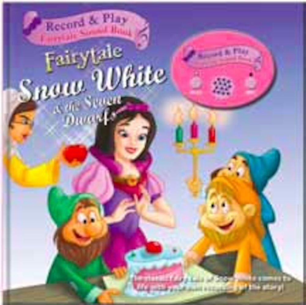 Record a story book - snow white