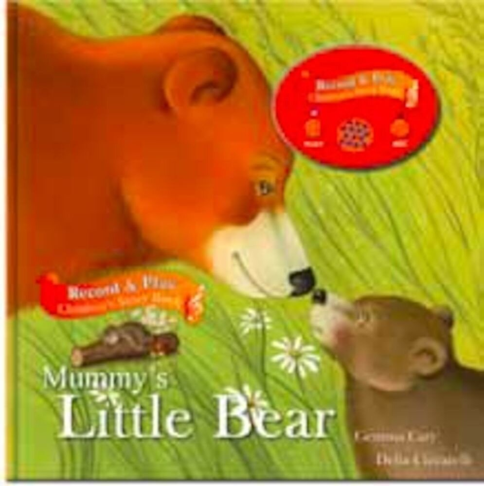 Record a story book - mummy's little bear (ctn qty 24)