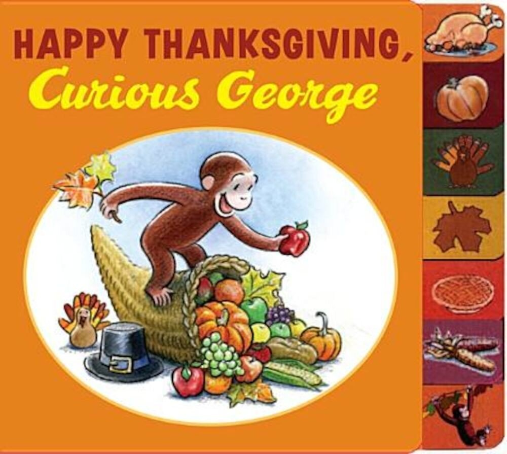 Happy Thanksgiving, Curious George, Hardcover