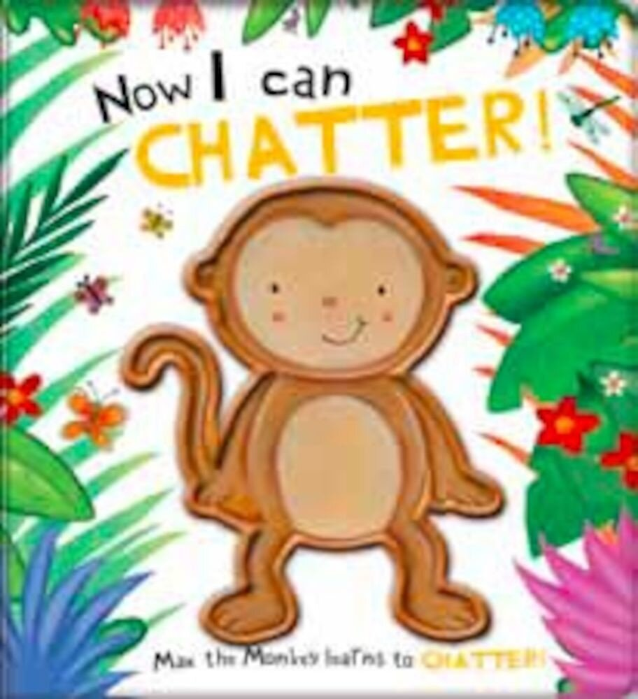Coperta Carte Touch and feel character book - monkey