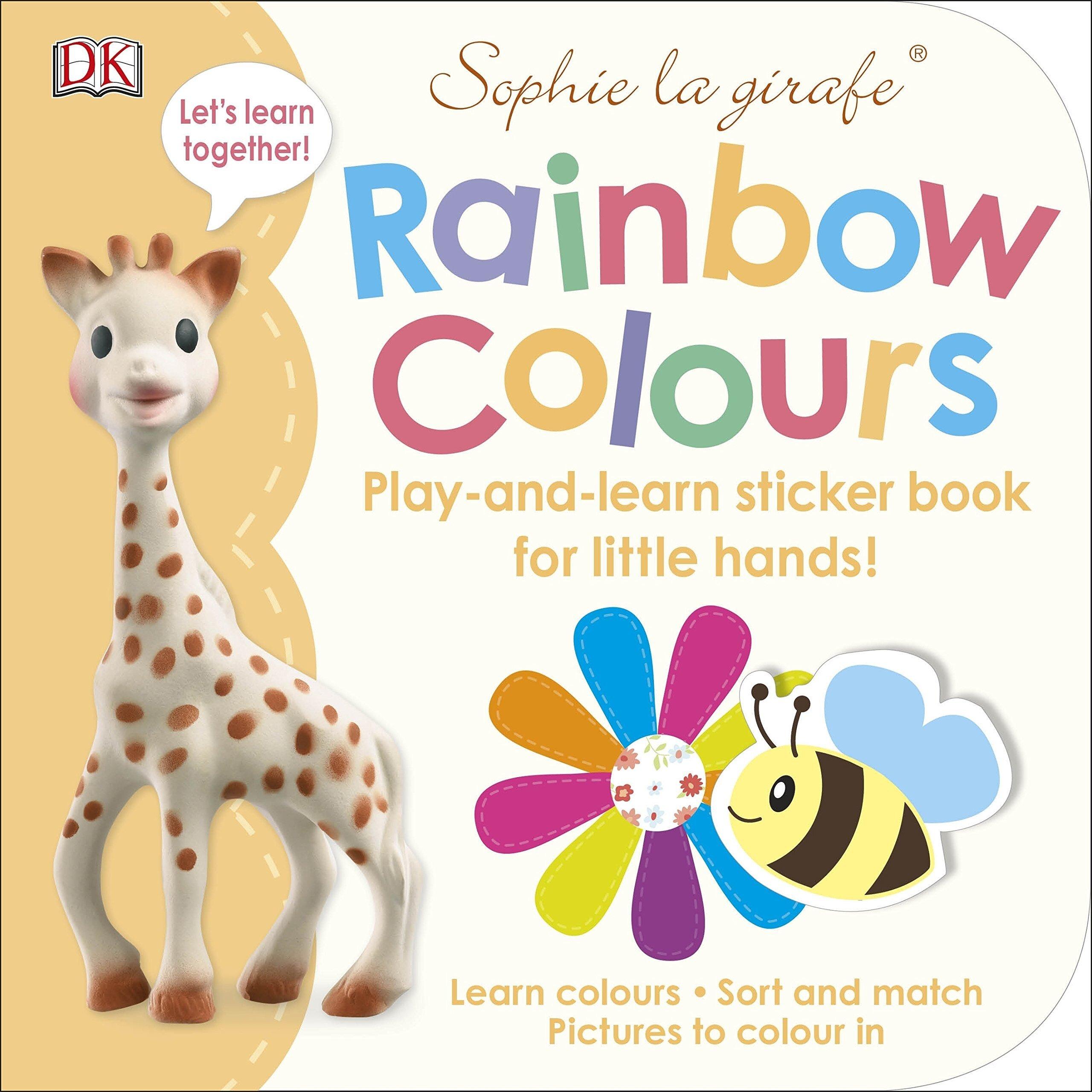 Coperta Carte Sophie la girafe Rainbow Colours