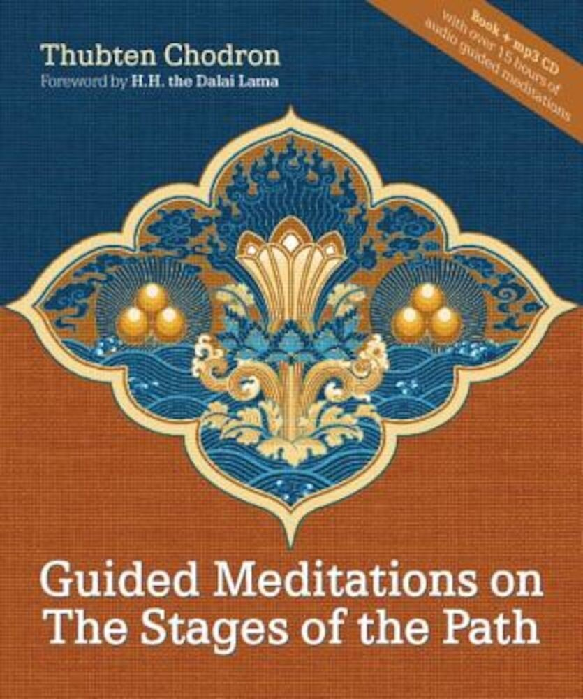 Guided Meditations on the Stages of the Path [With CD], Hardcover