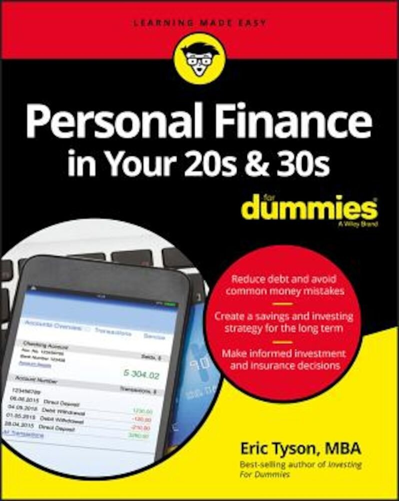 Personal Finance in Your 20s and 30s for Dummies, Paperback