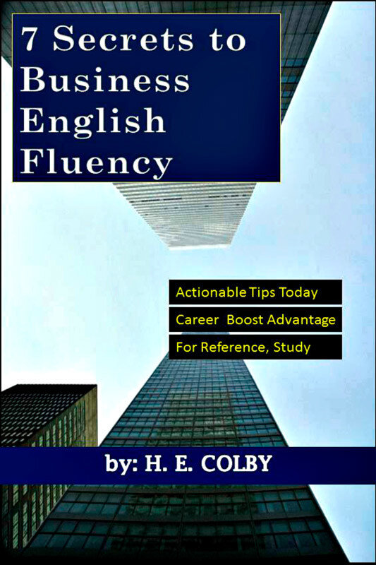 7 Secrets to Business English Fluency (eBook)