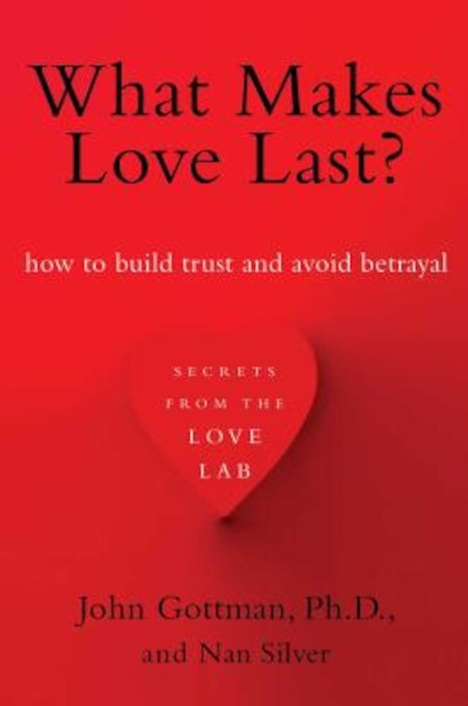 What Makes Love Last?: How to Build Trust and Avoid Betrayal, Paperback