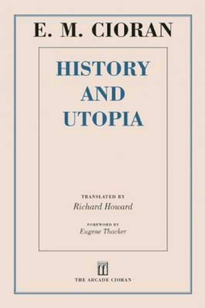History and Utopia, Paperback