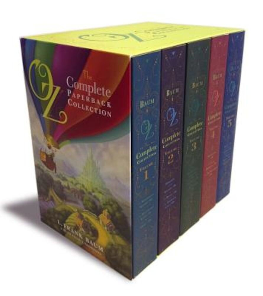 Oz, the Complete Paperback Collection: Oz, the Complete Collection, Volume 1; Oz, the Complete Collection, Volume 2; Oz, the Complete Collection, Volu, Paperback