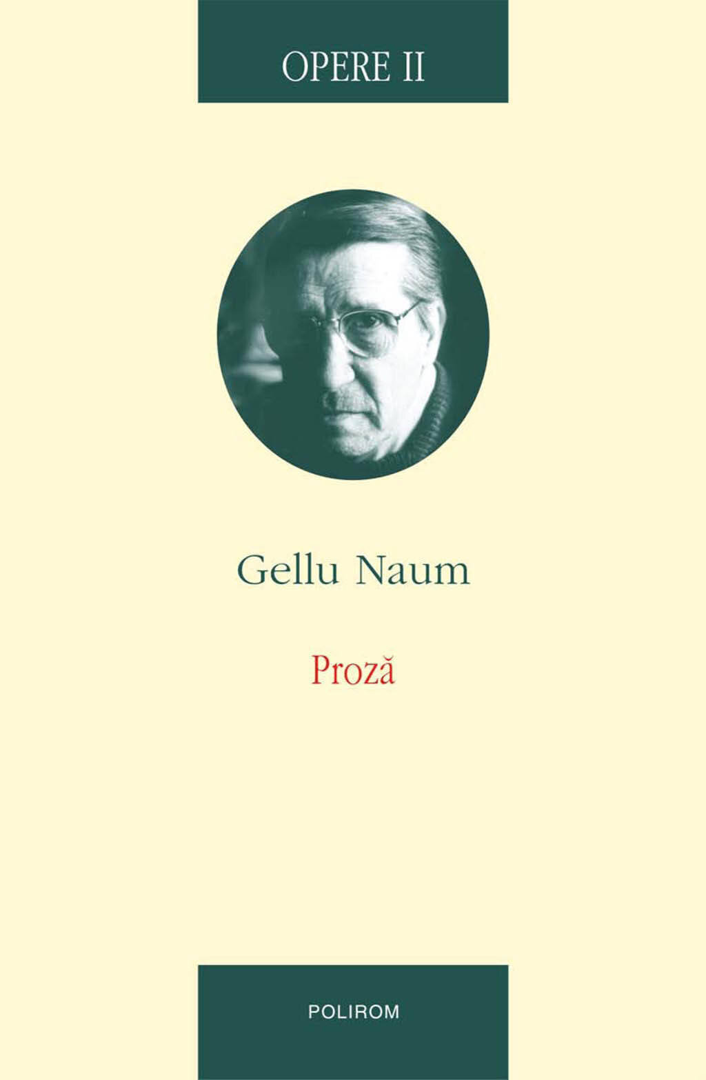 Opere II: Proza (eBook)