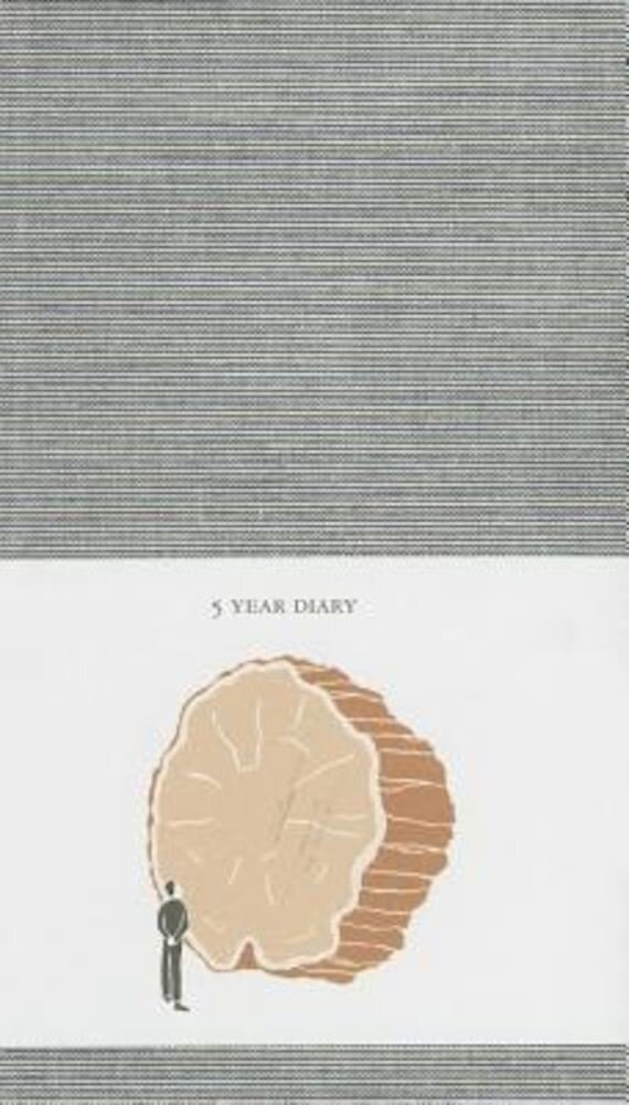 5 Year Diary, Hardcover