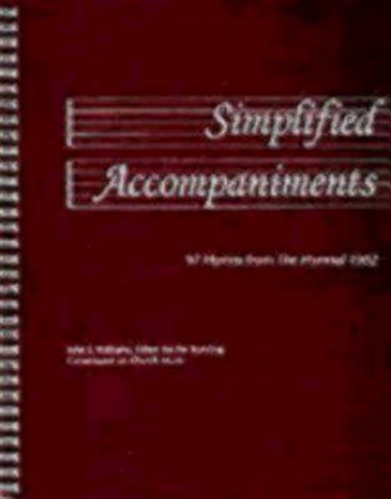Simplified Accompaniments: 97 Hymns from the Hymnal 1982, Paperback