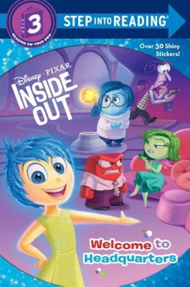 Welcome to Headquarters (Disney/Pixar Inside Out), Paperback
