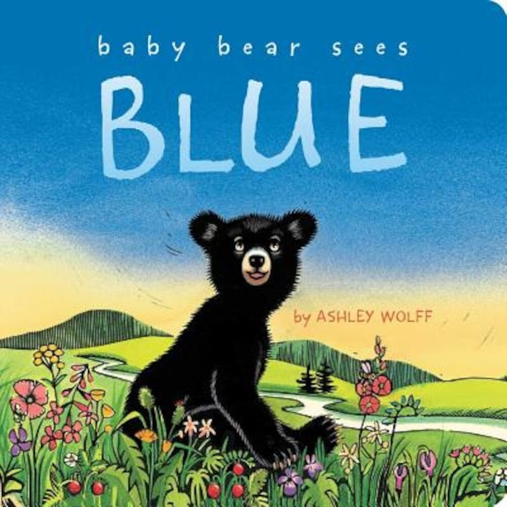 Baby Bear Sees Blue, Hardcover
