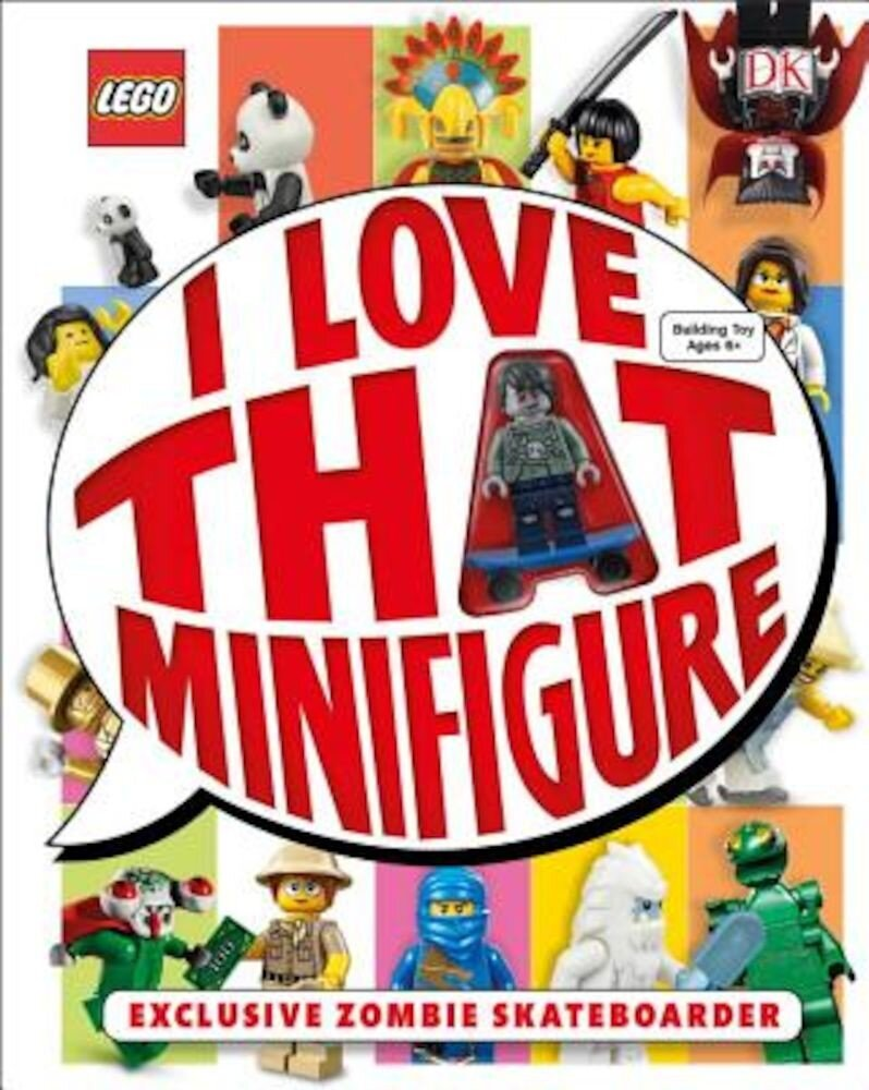 Lego: I Love That Minifigure, Hardcover