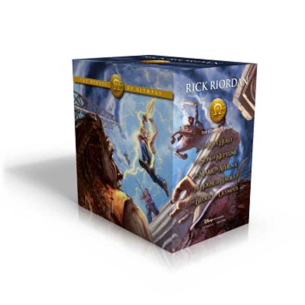 The Heroes of Olympus Hardcover Boxed Set, Hardcover